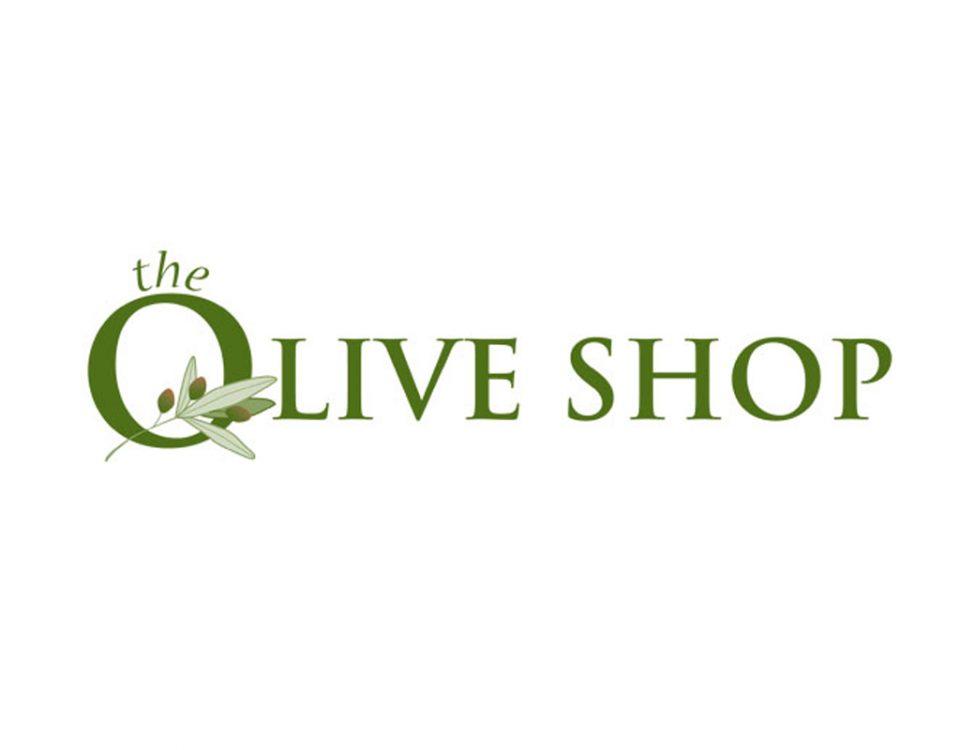Logo design, The Olive Shop