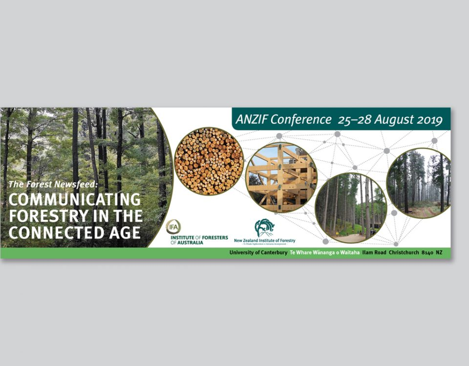 Conference Banner, ANZIF